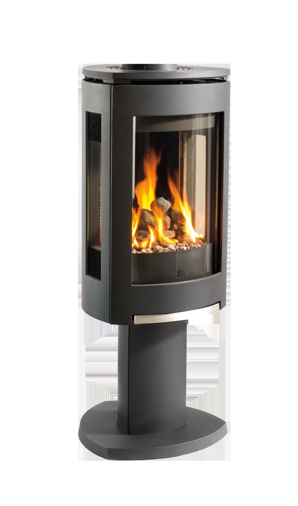 Jøtul Gf 370 Dv Modern Free Standing Gas Fireplace